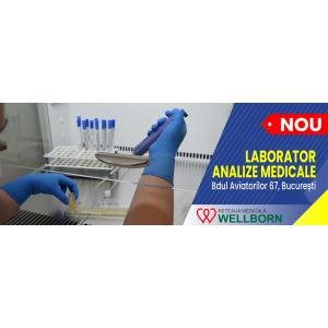 Rețeaua Medicală WELLBORN se extinde și inaugurează  cel de-al 2-lea laborator de analize medicale