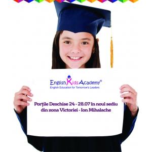 English Kids Academy îşi deschide un nou sediu în Sectorul 1 din Bucureşti