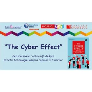 """Peste 700 de părinți și profesori au fost alături de Dr. Mary Aiken, expert mondial în cyberpsihologie, în cadrul conferinței """"The Cyber Effect""""."""
