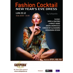 FASHION COCKTAIL BY CAFEPEDIA - NEW YEAR'S EVE DRESS