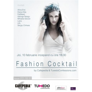 FASHION COCKTAIL (wire)less is more by Cafepedia & TuxedoConfessions.com
