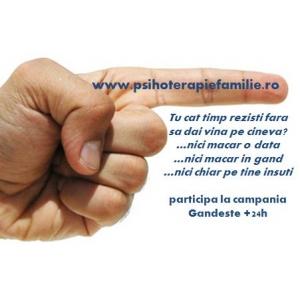 Gandesti pozitiv? - www.psihoterapiefamilie.ro te premiaza