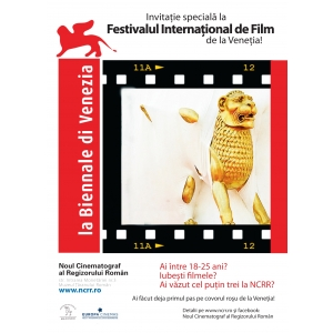 Venetia. Invitatie speciala la Festivalul International de Film de la Venetia!