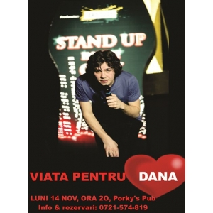 Show de stand up comedy in scop caritabil