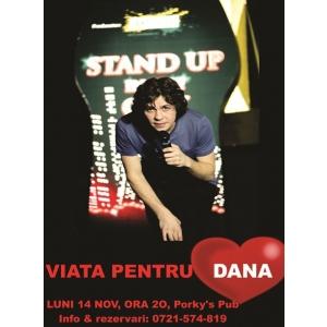 Show de stand up comedy in scop caritabil