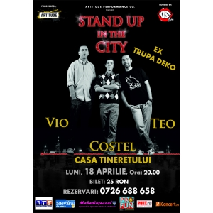 teo deko. STAND UP COMEDY LA SEVERIN