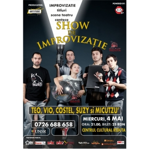 Stand up comedy cu BORDEA