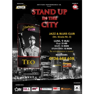 teo. Stand up comedy cu TEO