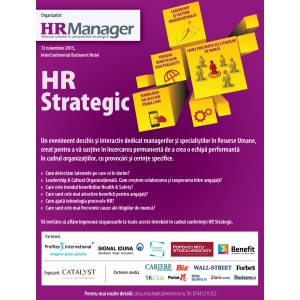conferinta hr strategic. Conferinţa HR Strategic 2015