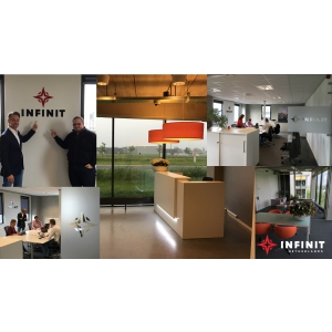 Infinit Solutions deschide primul birou în afara țării, în Olanda, începând astfel planul său de expansiune internațională