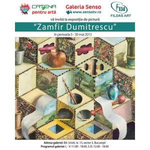 AFIS expozitia de pictura ZAMFIR DUMITRESCU