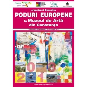 """vernisaj. Vernisaj expoziţie """"Poduri Europene 2013"""" Muzeul de Artă Constanţa"""