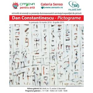 radu constantinescu. PICTOGRAME - Dan Constantinescu