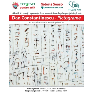 Vernisajul  Expoziției Pictograme- Dan Constantinescu