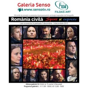 """Vernisajul expoziţiei de fotografie """"România Civilă. Spirit și expresie"""""""
