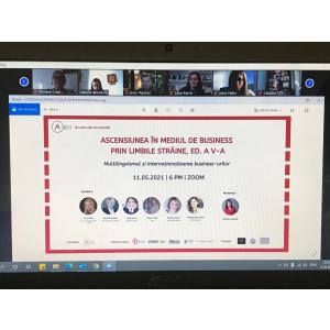 """A avut loc o nouă ediție de succes a conferinței  """"Ascensiunea în mediul de business prin limbile străine"""", un eveniment marca A_BEST"""