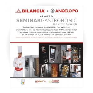 Seminar Gastronomie, 10 Mai 2012