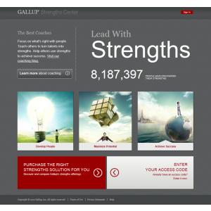GALLUP. GALLUP lansează on-line Strengths Center