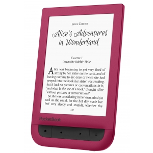 e-reader. PocketBook Touch HD Ruby Red