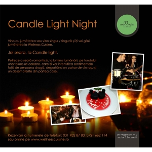colectie romantica. Candle Night
