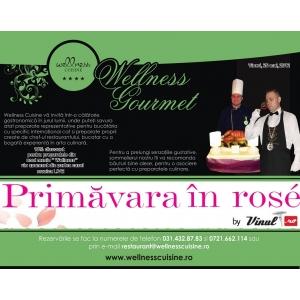 cuisine. Primavara in rose @ Wellness Cuisine