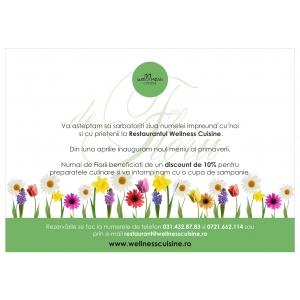 Ziua de Florii la Wellness Cuisine