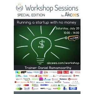 daniel ramamoorthy. Cum dezvolti un start-up fara bani? Editie speciala Workshop Sessions cu Daniel Ramamoorthy