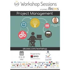 Învață cum să conduci propriile proiecte la Academia Workshop Sessions