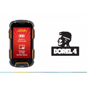 ip68. UTOK Dorel 4, rugged smartphone Quad Core cu standard IP68 si Gorilla Glass
