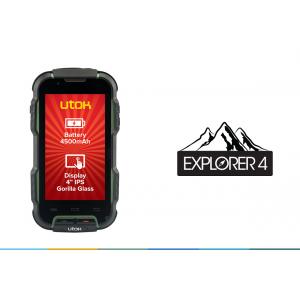 rugged smartphone. UTOK Explorer 4 - noul rugged smartphone al aventurierilor
