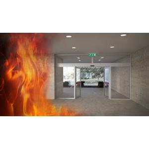 Usi automate rezistente la foc - securitate si prudenta