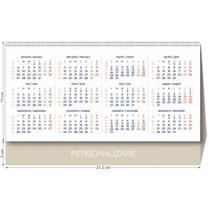 calendare triptice. calendar triptic de personalizat
