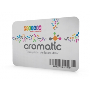 card loialitate Iasi. Cromatic Card