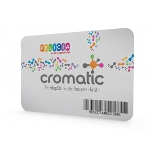 card loialitate Cromatic. Cromatic Card