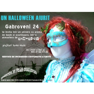 accesorii aur. Un Halloween A!urit in Gabroveni 24