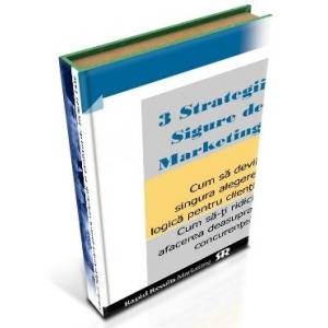 centrul de strategii aplicate. 3 strategii sigure de marketing profitabil