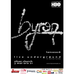 empire video production. Trupa byron anunta turneul de promovare a DVD-ului Live Underground si parteneriatul cu Empire Video Production