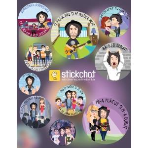 Campania de stickere Stickchat cu Smiley s-a viralizat din prima zi