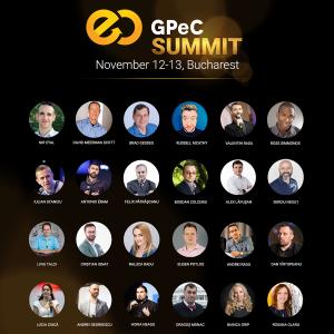 Peste 25 de Speakeri Excepționali urcă pe scena GPeC SUMMIT 12-13 noiembrie 2018
