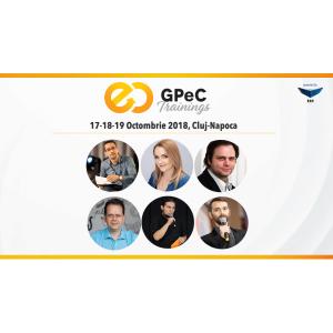 Ultima săptămână de înscrieri Early-Bird la GPeC Trainings 17-18-19 octombrie, Cluj-Napoca!