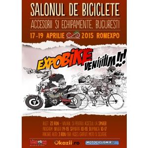 motociclete. Afis SALONUL DE MOTOCICLETE, Accesorii si Echipamente