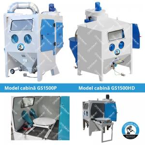 Modele noi de Cabine de Sablare Profesionale by GritSablare