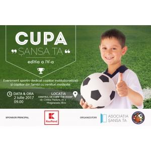 Competiţie de fotbal pentru copiii instituţionalizaţi sau din familii modeste