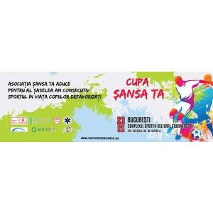 Cupa Sansa Ta, editia a sasea, pentru copii din centrele de plasament si din mediii diferite