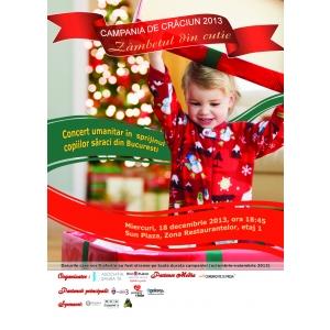 Eveniment caritabil dedicat copiilor mai putini norocosi din Bucuresti