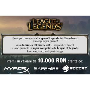 League of Legends 1v1 Showdown – Competiţia legendară