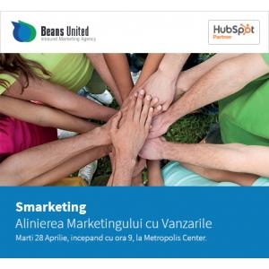 """smarketing. Beans United organizează seminarul """"Alinierea Marketingului cu Vânzările sau Smarketing"""""""