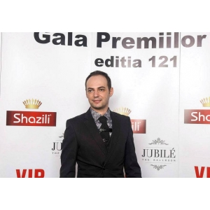 George Hojbota - premiat la Gala Premiilor VIP 2014