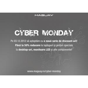 WiDi. Cyber Monday pe 3 decembrie  la Maguay!