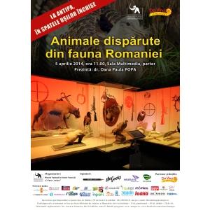 mamifere din fauna romaniei. Animale disparute din fauna Romaniei